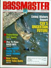 1997 Bassmaster Magazine: Living Waters Report TVA's Uncertain Future/Superdeep