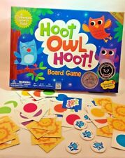 Peaceable Kingdom HOOT OWL HOOT ! Cooperative BOARD GAME Kids MATCHING New