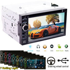 For Porsche 911 / Boxster / Cayenne/ Panamera Car Stereo 2Din CD DVD FM AM Radio