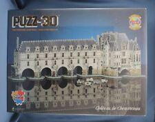 Wrebbit Puzz 3D Chateau de Chenonceau New Sealed Box
