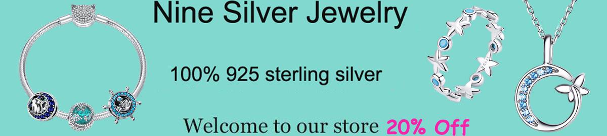 Nine silver Jewelry