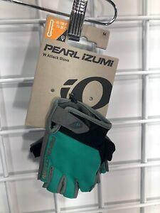 Pearl Izumi Women's Attack Glove Malachite Blue/Green Size Medium