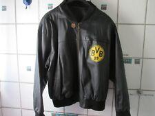 Borussia Dortmund Jacke Größe 60 Rarität sehr guter Zustand Echtes Leder