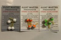 FLOATMASTER STRIKE INDICATORS-ASSORTED SIZES AND COLORS
