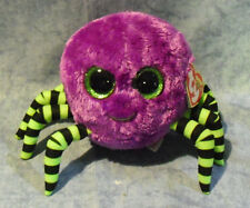 Ty Beanie Boos Glubschi Spider Crawly 15 Cm Glitter Eyes Purple Green