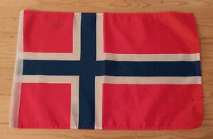 "NORWAY FLAG - 45cm x 30cm - 18"" x 12""  -  Norwegian Flag"