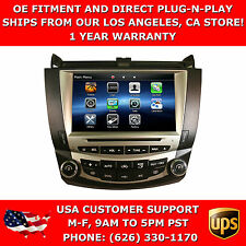 IN DASH CAR NAVIGATION PLUG AND PLAY NAVIGATION DVD GPS RADIO FIT HONDA ACCORD
