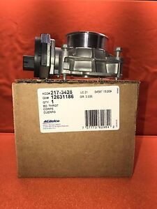 NEW   ACDelco 217-3428  new part # 12694871 Throttle Body Assembly   1 YEAR  War