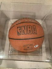 Multi Signiture Basketball signed by Kevin Durant Earl Watson Chris Wilcox and t