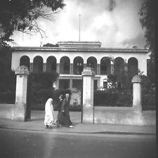 TANGER c. 1950 - Consulat de France Maroc - Négatif 6 x 6 - OST 41