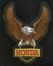 Vintage 70s-80s HONDA Eagle Upwing Motorcycle Biker Collectors Patch