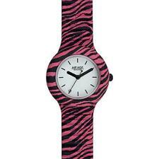 Reloj HIP HOP POP JUNGLE HWU0936 Small 32mm Silicona Rosa Blanco