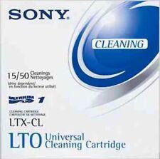 SONY PC MAC LTX-CL Ultrium Universal Cleaning Cartridge LTXCL TAPE 15/50 LTO