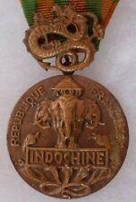 MÉDAILLE Indochine CEFEO Corps Expéditionnaire Français Extrême Orient bronze