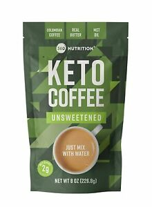 360 Nutrition - Instant Keto Coffee - Just Add Water (Unsweetened)