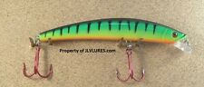 Jlvlures Frantic Minnow Lure- Jfm153Tr- Firetiger Lure Shallow Diving Minnow