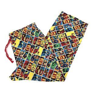 Disney Store Marvel Comics Pajama Lounge Pants XL