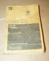 1983 Caterpillar Model 621B Tractor Service Parts Manual P/N SEBP1266