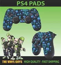 PS4 PlayStation 4 Joystick TAPPETINO ADESIVO PSICHEDELICO erbaccia FOGLIA RASTA