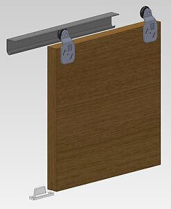 Sliding Wardrobe Door Gear Twin Track System DIY Bottom Roller Internal Doors