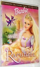 Barbie as Rapunzel (DVD, 2002) Fast Free Shipping