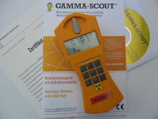 Gamma-Scout Geigerzähler w/Alert mit Ticker & Alarm Strahlenmessgerät 9101 NEU