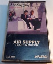 AIR SUPPLY Tape Cassette HEART IN MOTION 1986 Arista Records Canada  AC9-8426