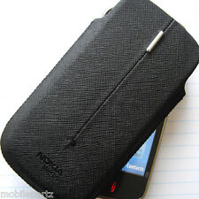 Genuine Nokia N97 Smart Soft Black Fabric Cover Slip Sleeve Case CP 323