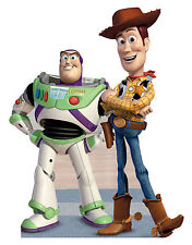 BUZZ AND WOODY(A TOY STORY) LIFE SIZE STAND UP FIGURE MOVIE KIDS CARTOON FIGURES