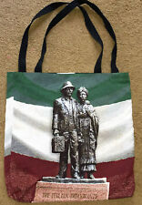 the Italian Immigrants doublé 43.2cm Tapestry Sac fourre-tout