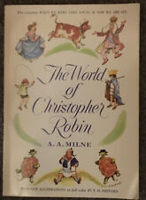 Vintage Paperback 1958 BOOK THE WORLD OF CHRISTOPHER ROBIN BY A.A. MILNE