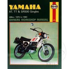 YAMAHA XT TT & SR 500 SINGLES Haynes Repair Manual 0342