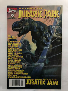 TOPPS Collectible Comic Book JURASSIC PARK No 9 February 1996 Vol 1