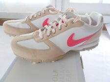Nike Golf Shoes Women's Sz 9M SP5 111 Chaussures Performance Beige Wht