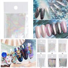 6colors Brillo Etiquetas Adhesivas Calcomanías Pegatinas Decoración Uñas