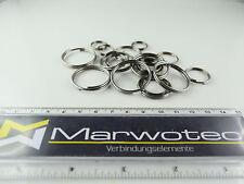 16 25 35 mm Schlüsselring vernickelt 18 15 20 30 SBS® Schlüsselringe Ø 12