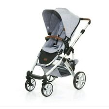 Nib Authentic *ABC design  SALSA 4  StroLLer Grey pram buggy RRP £550