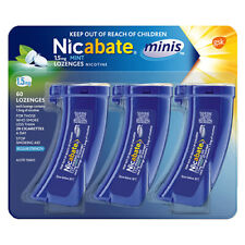Nicabate Minis 1.5mg 60 Mint Lozenges