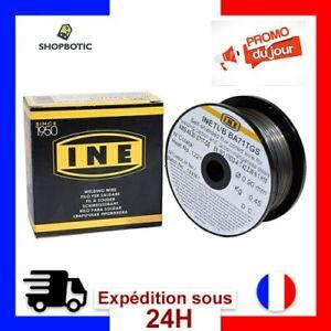 Fil a Souder MIG Sans Gaz Fourre Acier Bobine Soudure Semi-Automatique 0,9 mm