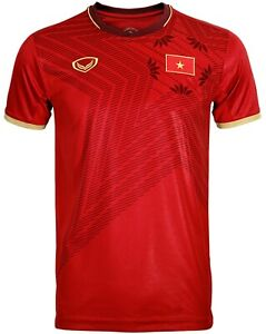 100% Authentic 2020 Vietnam National Football Soccer Team Jersey Shirt Red Home