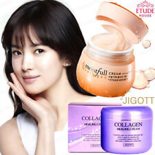 ETUDE HOUSE Collagen Moistfull Cream 75ml JIGOTT Collagen Healing Cream 100g NEW