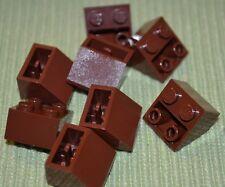 (8) Brown 2x2 Standard Inverted Slope Bricks ~ Lego ~ NEW ~ Castle