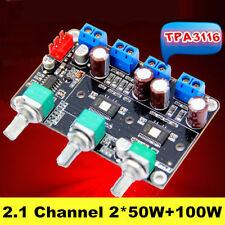 TPA3116D2 2x 50W +100W 2.1 Channel Digital Subwoofer Power Amplifier Board XG