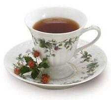 burton+Burton Porcelain Tea Cup & Saucer Gift Set BERRY PATCH
