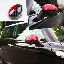 MINI ONE COOPER R55 CLUBMAN R56 R57 R60 R61 ESPEJO CAPS  Rojo Diseño Karo WORKS