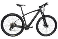 """29er 17.5"""" Carbon Bicycle 22s Complete Mountain Bike Wheels MTB Suspension Fork"""