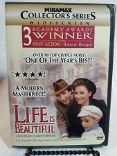 Life Is Beautiful (Dvd, 1999, Widescreen)