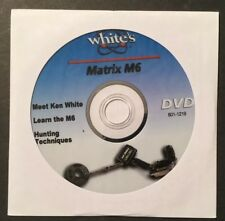 Whites Matrix M6 Metal Detector Instruction DVD & Ken White & Hunting Techniques