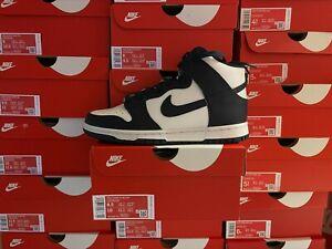 Nike Dunk High Retro Champion Navy DB2179-104 Grade School Size Basketball Shoe