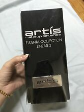Artis Makeup Brush Fluenta Collection Linear 3 brand new